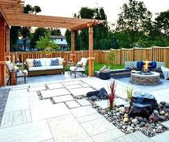Patio Firepits Backyard Patios With Pits Backyard Patio Ideas With Pit