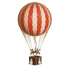 circus balloon large hot air balloon model in rosenberryrooms