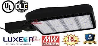 40 000 lumen led parking lot lights pro series 300 watt led