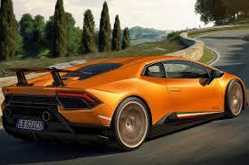 Lamborghini Huracan Back View - record breaking lamborghini huracan performante launched in india