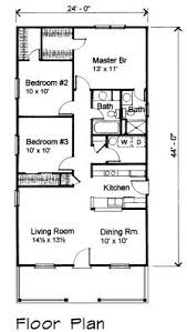 One Floor Cottage House Plans Cottage Style House Plan 3 Beds 2 Baths 1200 Sq Ft Plan 423 49