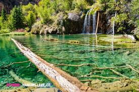 Colorado Lakes Map by Hanging Lake Glenwood Springs Outthere Colorado