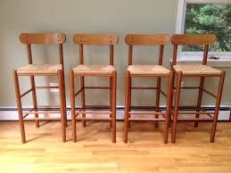 danish bar stools set of 4 danish modern shaker style bar stools in baltimore county