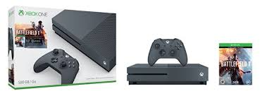 xbox one s gets painted military green for 1tb battlefield 1