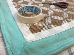 Rug Trim Don U0027t Throw Out That Old Jute Rug Here U0027s One Way To Save It I