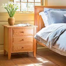 Shaker Style Nightstand Shaker Bedroom Furniture Vermont Woods Studios