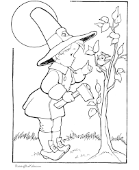 free thanksgiving coloring pictures 007