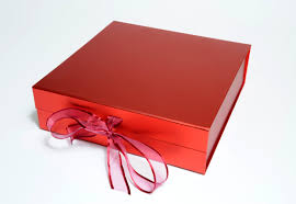 metallic gift box beautiful coloured gift boxes protective outers supplied flat