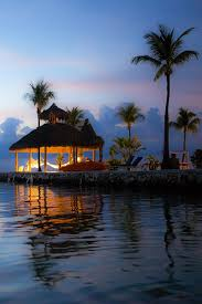 Tiki Hut On Water Vacation Key Largo Florida Just In Case You Need One More Excuse To