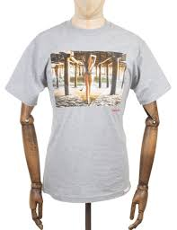 diamond supply co diamond supply co pier photo t shirt heather grey