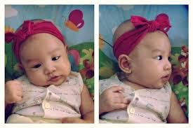 baby headwrap diy baby headwrap pensil berwarna oranye