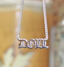 personalized name necklace sterling silver personalized 3d name necklace khloe kourtney be