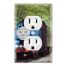 Thomas The Tank Room Decor by Single Toggle Wall Switch Cover Plate Decor Wallplate Thomas