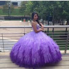 dresses for sweet 15 aliexpress buy pretty purple quinceanera dresses gradient