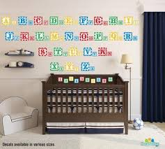 baby blocks alphabet and numbers reusable wall decals decal venue