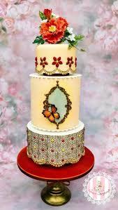wedding cake daily moroccan wedding cake by sweet surprizes cakes cake decorating
