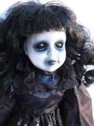 Evil Doll Halloween Costume Ooak Horror Gothic Scary Porcelain Art Doll U0027evil U0027 Clown