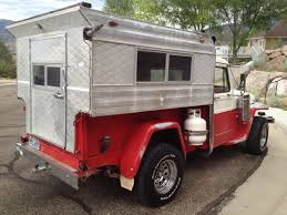 mitsubishi j54 1957 diesel truck w camper top st george ut status unknown