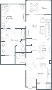 Floor Plan Of Friends Apartment Sheraton Vistana Villages Three Bedroom Lockoff Villa Amelia