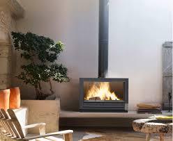wood heating stove contemporary cast iron preston invicta