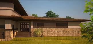 U Shaped House by Razvan Barsan Partners