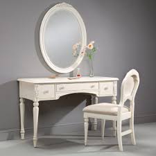 Glass Vanity Table With Mirror Modern Bedroom Vanity In Mirror Set With Lighted Small