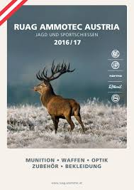 ruag ammotec austria katalog 2016 17 by ruag ammotec marken und