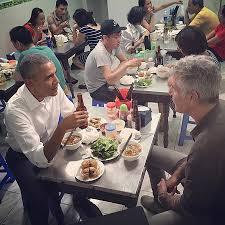 anthony bourdain on president barack obama and their dinner in hanoi