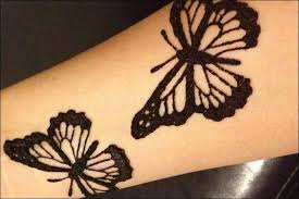 easy butterfly mehndi design makedes com