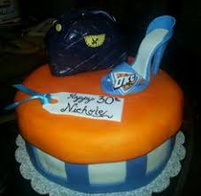 okc thunder cake flour de lis custom cakes and treats oklahoma