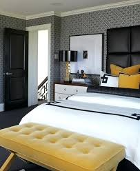 deco chambre a coucher deco jaune et marron 20 idaces de mobilier contemporain pour