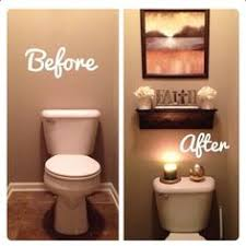 bathroom decorating idea diy faux floating shelves shelves house and bath