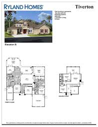 Springs Floor Plans by Ryland Homes Floor Plans Pyihome Com