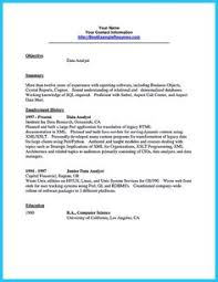 Sample Resume Data Analyst by Resume Laude Resume Template Pinterest