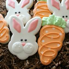 Decorating Easter Cookies Ideas by Easter Cookies Carrot Cookies Bunny Face And Carrots