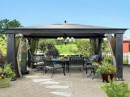 Patio Gazebos by 23 Wonderful Large Garden Gazebos Pixelmari Com