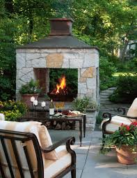Homemade Chiminea 20 Outdoor Fireplace Ideas Midwest Living