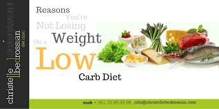 reasons you u0027re not losing weight on a low carb diet
