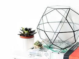 amazon com large glass terrarium container geometric indoor