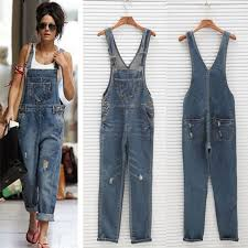casual jumpsuits arrival 2017 ripped denim jumpsuits s overalls