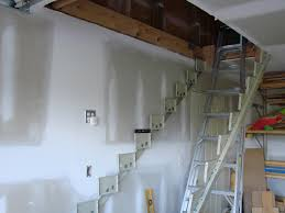 pull down attic stairs image hide the pull down attic stairs