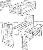 Aldo Leopold Bench Plans How To Build Outdoor Benches 33 Bench Woodworking Plans