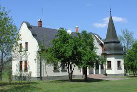 large property with a castle like house for sale in the puszta