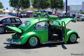 volkswagen beetle green the classic vw show 2017 costa mesa ca classiccult