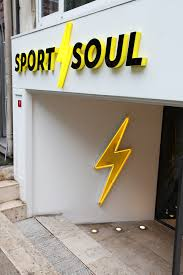 Showcase Design Exterior And Interior Store Design Ideas For Sport Soul Branding