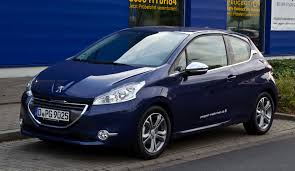 blue peugeot the legend returns the peugeot 208