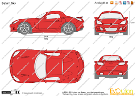 nissan saturn 2006 the blueprints com vector drawing saturn sky
