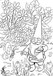 david kabouter zap gnomes coloring fairy