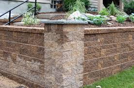 Garden Retaining Wall Blocks by Versa Lok Retaining Walls Columns Titusville Fl