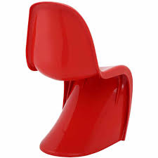 modway slither stackable dining side chair multiple colors